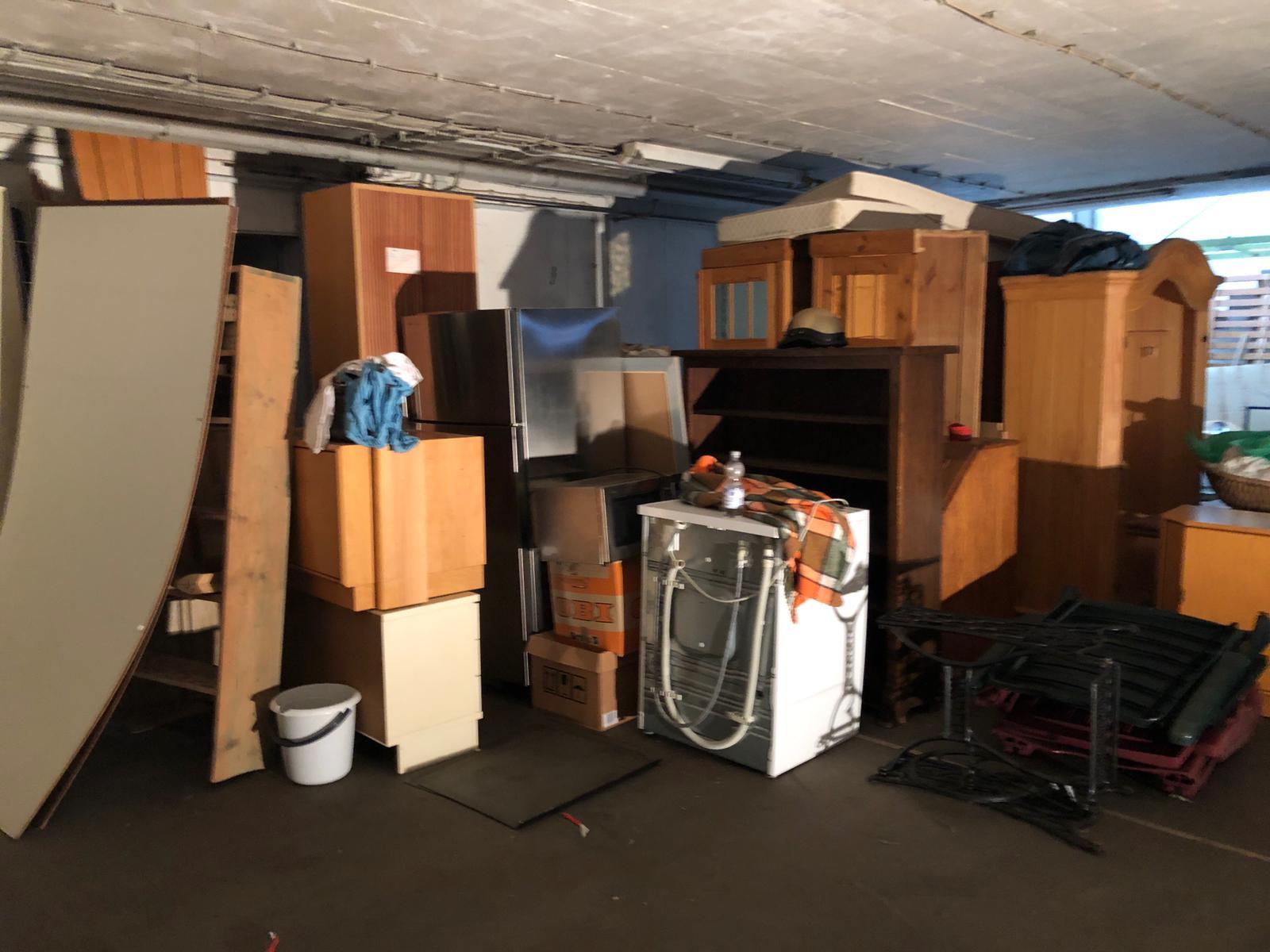 Entrümpelung einer Garage